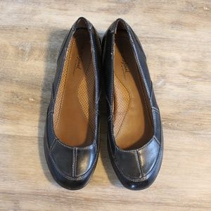 Womens Natural Soul By naturalizer Flats Black